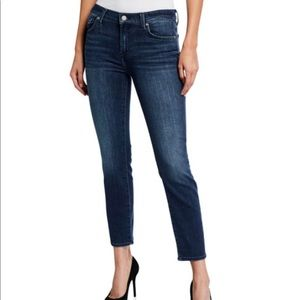 7 FOR ALL MANKIND Roxanne Skinny Jeans Light SZ30
